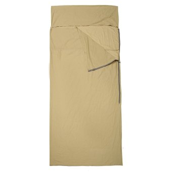 100*210 Naturehike Outdoor Envelope Sleeping Bag 100% Cotton Sleeping Bag Liner Sheet Beige - intl
