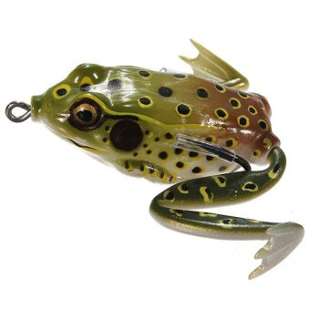 Fishing Ray Frog Lures Bait Crankbaits Pointed Mouth (Intl)