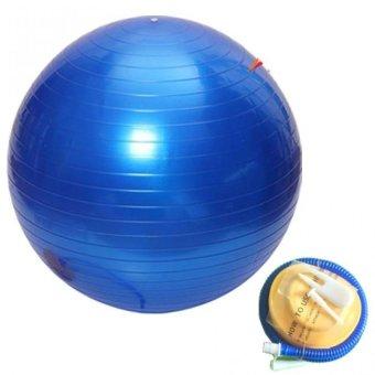 Bóng tập yoga Brosman 55cm (Xanh dương).