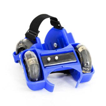 Bánh xe gắn Giày trượt patin cà tính năng động CÓ ĐÈN LED