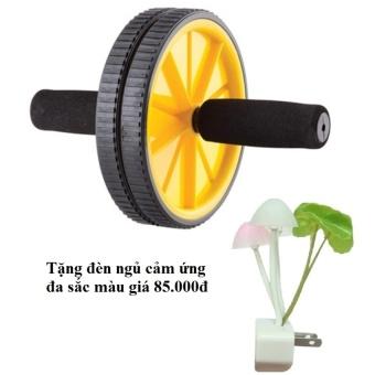 Máy tập cơ bụng bánh xe AB Tặng đèn ngủ cảm ứng