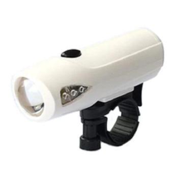 Đèn gắn xe đạp chuyên nghiệp CT488 Huy Tuấn (Trắng)