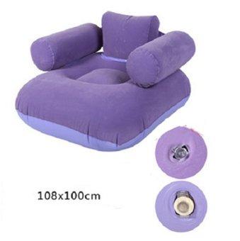 Ghế sofa đệm hơi cao cấp (Tím)