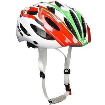 Nón bảo hiểm xe đạp Limar 777 cờ Ý (Trắng Xanh Lá Đỏ)