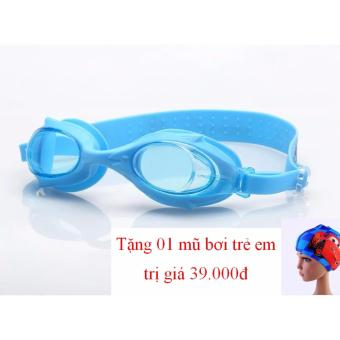 Kính Bơi Trẻ Em Shenyu Kèm Mũ Bơi In Hình Ngộ Nghĩnh_Sy 4600-8 (Xanh)