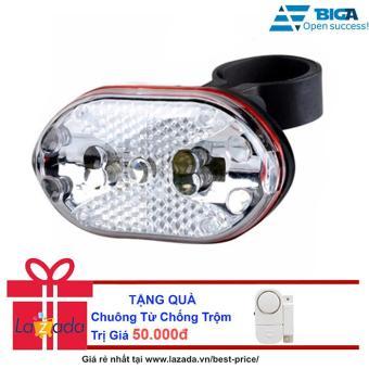 Đèn Chiếu Hậu 9 LED Xe Đạp XD03 + Tặng Chuông Từ Chống Trộm