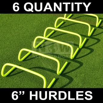 6pcs AGILITY HURDLES 6