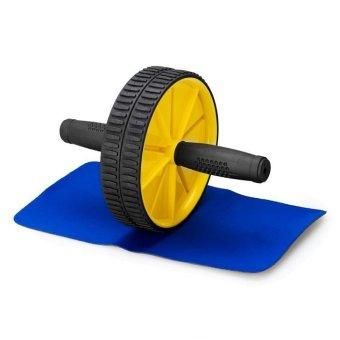 Bộ bánh xe tập thể dục Verygood (vàng)