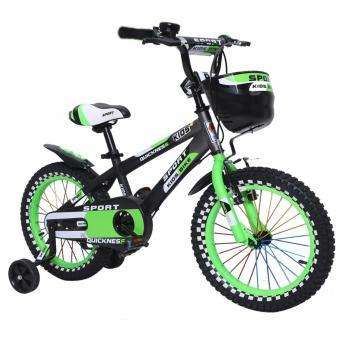 Xe đạp cho bé Sport 16 (Xanh)