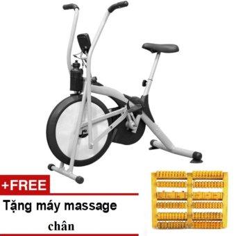 Xe đạp tập thể dục Air Bike + Bàn mát-xa chân