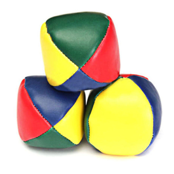 Juggling Balls Classic Bean Bag Juggle Magic Circus Beginner KidsToy - intl