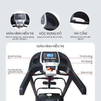 Máy chạy bộ đa năng Ganas T900 - 2
