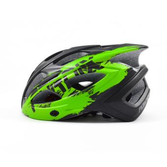 Mũ bảo hiểm đi xe đạp Fornix A02N030M(Đen phối xanh lá) - 2