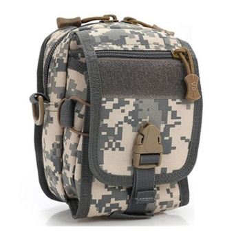 Multifunction Outdoor Sports Nylon Tackle Waist Pack Shoulder FishingBag - intl
