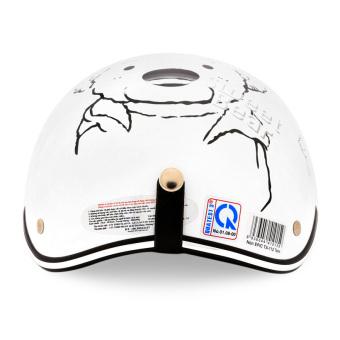 Nón bảo hiểm nửa đầu EPIC-TA112 (Trắng)