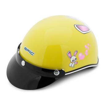 Nón bảo hiểm nửa đầu EPIC-TA112 (Vàng con thỏ)