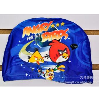 Nón bơi trẻ em in hình ngộ nghĩnh đáng yêu_Angry Birds