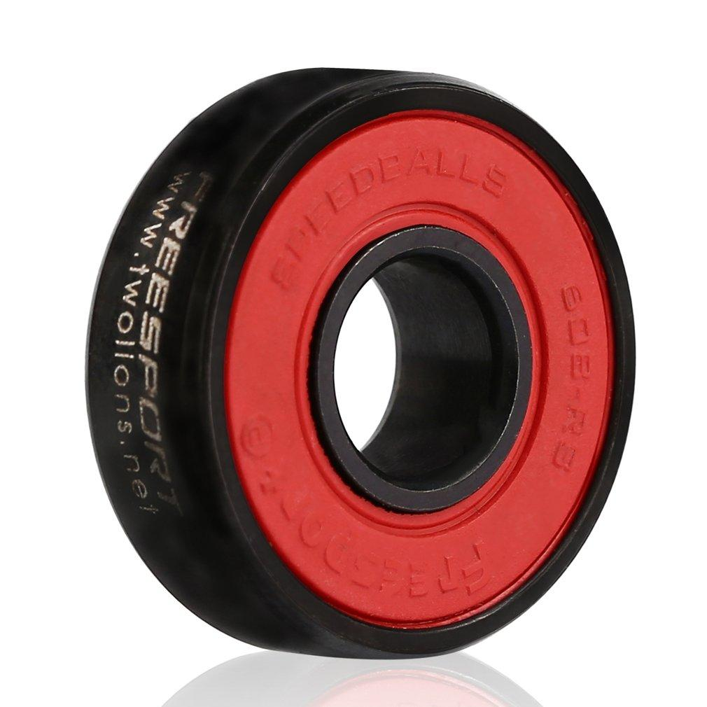 OH 608RS Good Roller Skates Ceramic Ball Inline Skate Bearings Drift Plate