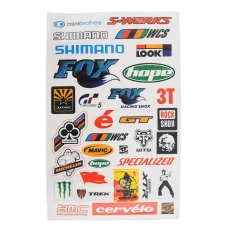Personality BMX Bike Cycling Bicycle Scrapbook Decal Cool Stickers Sticker HOT