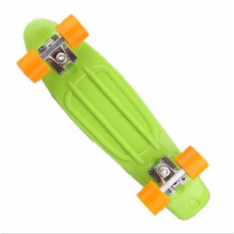 Qizhef22 inch fish plate are single - Four Wheel Scooter Skate Scooter(light green) - intl