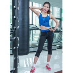 Đánh Giá Quần sooc thể thao nữ Donex Proning 851 (tập gym, dã ngoại…) Đen phối xanh bích.