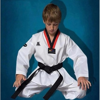 Giá Niêm Yết Taekwondo Uniform Twill Cotton Fabric For Kids/Adults/Men/Wonmentae Kwon Do – intl