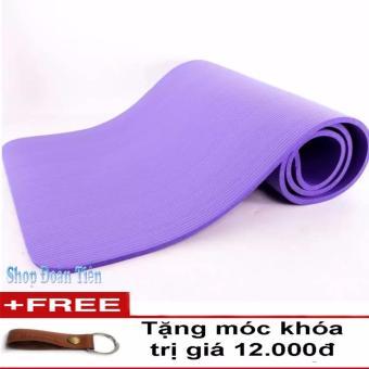 Thảm tập Yoga siêu bền loại 1 dày 10mm TPE Tím (Free móc khóa da) - 8176852 , HA579SPAA1JXBPVNAMZ-2529751 , 224_HA579SPAA1JXBPVNAMZ-2529751 , 258000 , Tham-tap-Yoga-sieu-ben-loai-1-day-10mm-TPE-Tim-Free-moc-khoa-da-224_HA579SPAA1JXBPVNAMZ-2529751 , lazada.vn , Thảm tập Yoga siêu bền loại 1 dày 10mm TPE Tím (Free móc