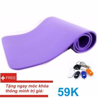 Thảm tập Yoga siêu bền loại dày 10mm TPE (Tím) Kèm túi đựng thảm+ Móc khóa thông minh - 8629345 , OE680SPAA8SWAYVNAMZ-17240418 , 224_OE680SPAA8SWAYVNAMZ-17240418 , 329000 , Tham-tap-Yoga-sieu-ben-loai-day-10mm-TPE-Tim-Kem-tui-dung-tham-Moc-khoa-thong-minh-224_OE680SPAA8SWAYVNAMZ-17240418 , lazada.vn , Thảm tập Yoga siêu bền loại dày 10m