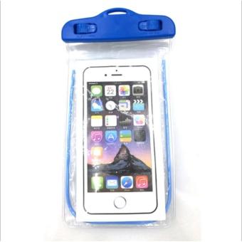 Túi chống nước an toàn cho điện thoại Iphone 5/6/6Plus (Xanh côban)