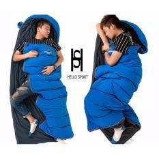 Túi Ngủ Dã Ngoại HS Xanh Blue