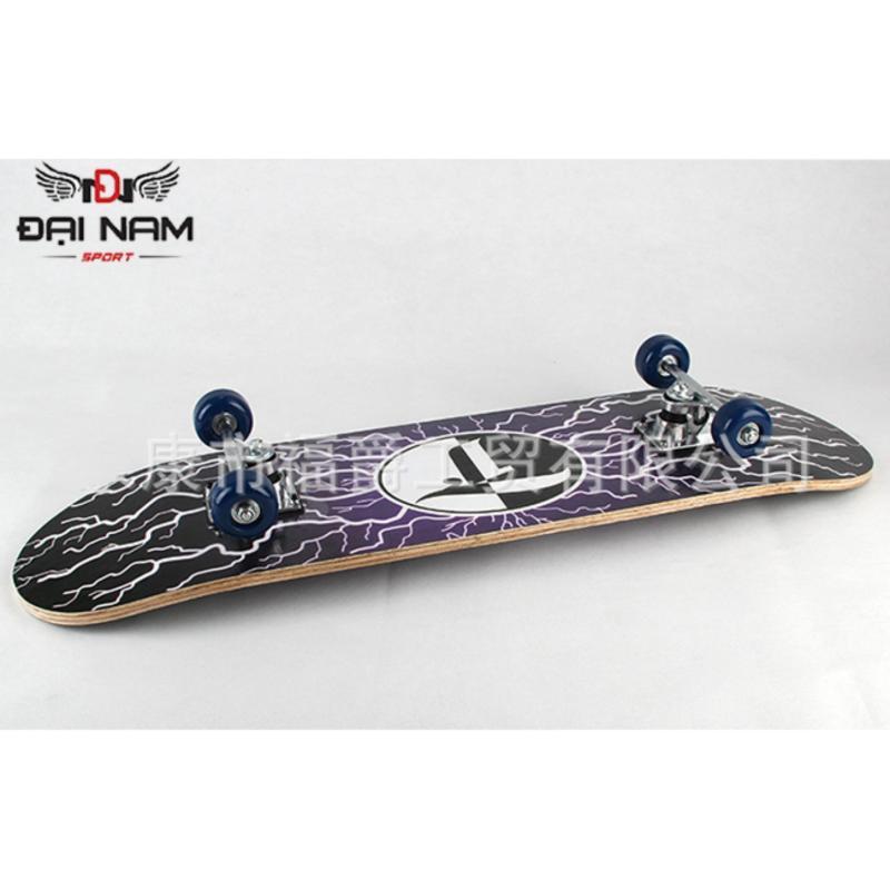 Ván trượt cao cấp cỡ lớn Skateboard (Chịu lực 100kg)