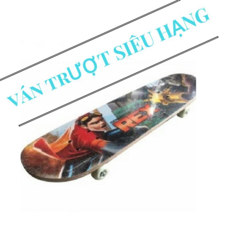 Ván trượt skate board loại lớn - tiêu chuẩn thi đấu