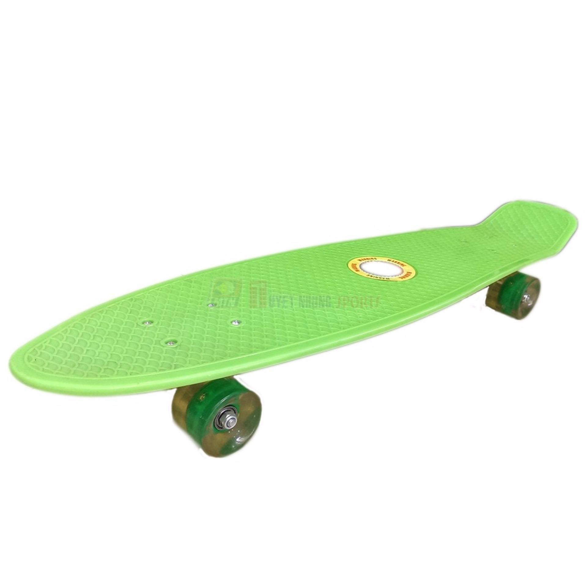 Ván trượt Skateboard Penny nhập khẩu cao cấp - tiêu chuẩn thi đấu - xanh lá