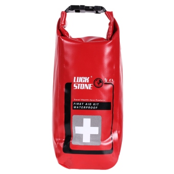 Waterproof Emergency FirstAid Kit Bag Travel DryBag RaftingCampingKayaking - intl