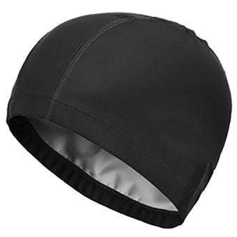 Waterproof Swim Cap Bathing Hat For Adult Women And Men - Black - intl - 8627109 , OE680SPAA70ZQVVNAMZ-12892602 , 224_OE680SPAA70ZQVVNAMZ-12892602 , 375000 , Waterproof-Swim-Cap-Bathing-Hat-For-Adult-Women-And-Men-Black-intl-224_OE680SPAA70ZQVVNAMZ-12892602 , lazada.vn , Waterproof Swim Cap Bathing Hat For Adult Women And