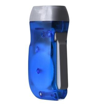 Wind up Hand Pressing Crank Emergency Camping LED Flashlight Torch BU - intl