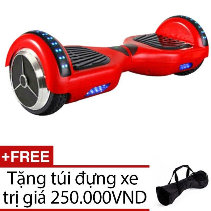 Xe cân bằng thông minh Version (Đỏ) + Tặng 1 túi đựng xe