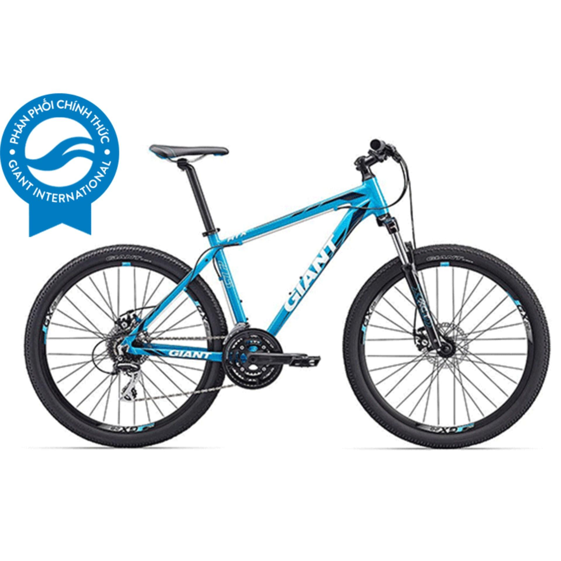 Xe đạp địa hình GIANT ATX 1 - Size S (Xanh/Trắng)