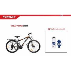 Xe đạp địa hình Thể Thao Fornix- BM703- màu đen cam + Tặng Gọng- Bình nước