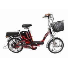 Xe đạp điện Bmx 18 inch ( đỏ đen )