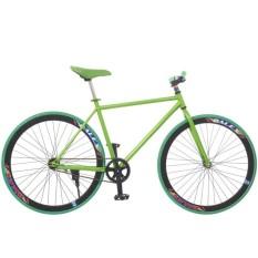 Xe đạp Fixed Gear Single (Xanh lá phối đen)