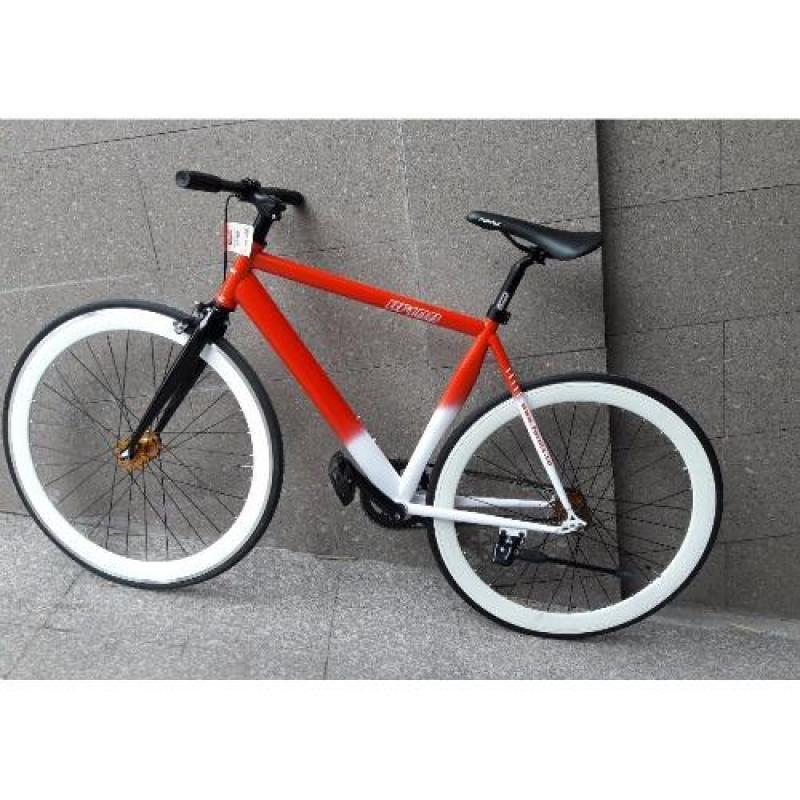 Phân phối Xe đạp FixedGear FORNIX-BF100 (Đỏ trắng)