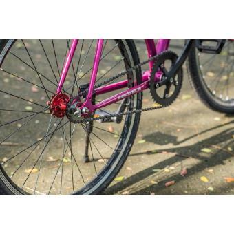 Xe đạp FixedGear, hiệu FURY, mã BF400 ( xanh lá )