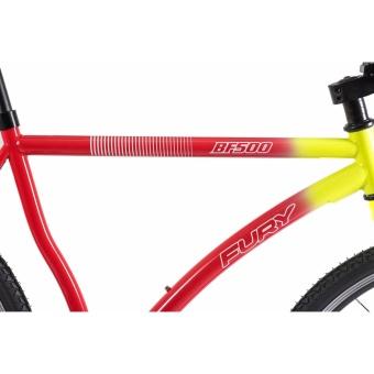 Xe đạp FixedGear, hiệu FURY, mã BF500 ( xanh lá )