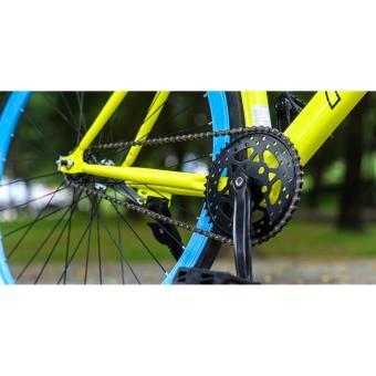 Xe đạp FORNIX FIXEDGEAR, MODEL BF100S (xanh dương) + tặng balô nhập khẩu