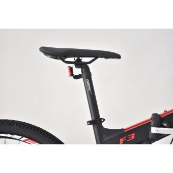 Xe đạp gấp địa hình thể thao Fornix F3 (Đen đỏ)