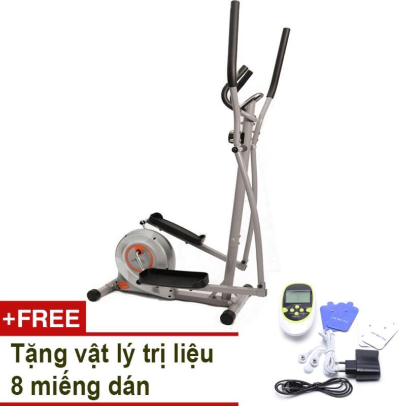 Bảng giá Xe đạp tập thể dục Air Bike AB-02 (Xám) + Tặng vật lý trị liệu 8 miếng dán