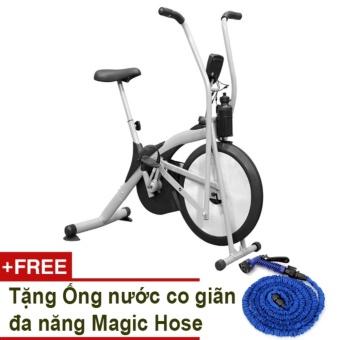 Xe đạp tập thể dục Air Bike + Tặng Ống nước co giãn đa năng Magic Hose