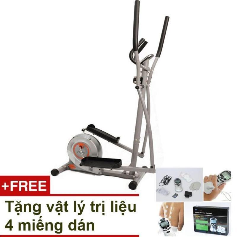 Bảng giá Xe đạp thể dục Air Bike AB-02 (Xám) + Tặng vật lý trị liệu 4 miếng dán