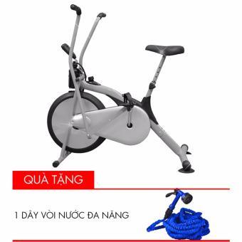 Xe đạp thể thao Air Bike (Xám) + Tặng 1 vòi xịt nước đa năng